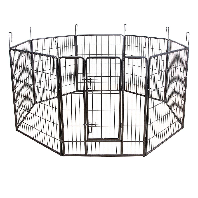 parc pour chien. Black Bedroom Furniture Sets. Home Design Ideas